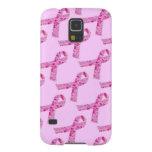 Pink Ribbon Fractal Galaxy S5 Cover