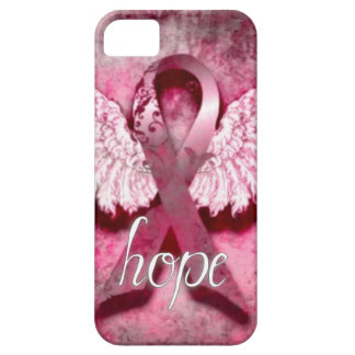 Pink Ribbon Hope by Vetro Designs iPhone 5 Cases