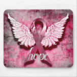 Pink Ribbon Hope by Vetro Designs Mousepad