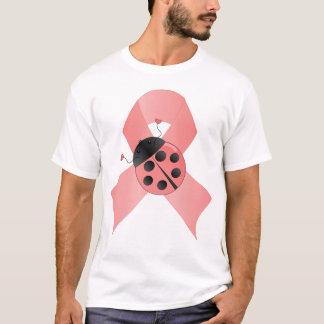 Pink Ribbon Lady Bug T-Shirt