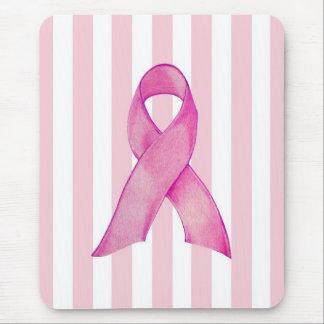 Pink Ribbon Mouse Pad