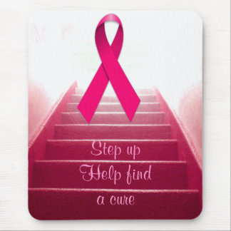 Pink Ribbon of Hope_ Mouse Pad