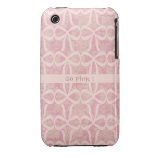 Pink Ribbon Phone Case Case-Mate iPhone 3 Case