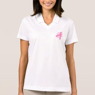 Pink Ribbon Polos