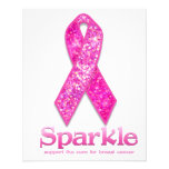 Pink Ribbon Sparkle gifts 11.5 Cm X 14 Cm Flyer