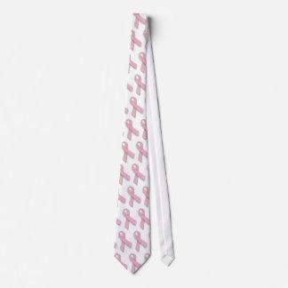 Pink Ribbon - tie