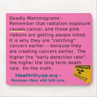 Pink Ribbons and Mammograms Kill Mouse Pad
