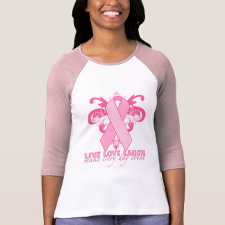 Pink Ribbons Every Day T Shirts
