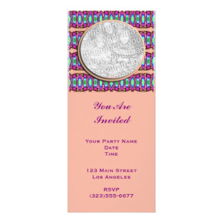pink ribbons personalized invite