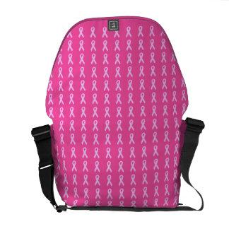 Pink Ribbons Messenger Bag