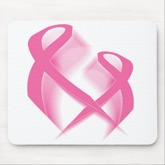 Pink Ribbons Mousepad
