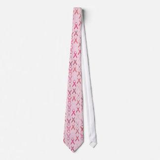 Pink Ribbons Tie