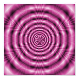 Pink Rings Photo Print