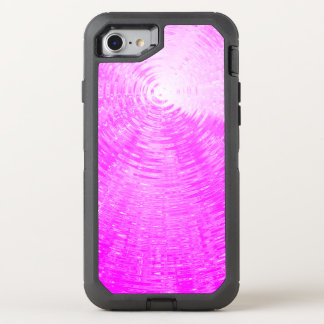 Pink Ripples OtterBox Defender iPhone 8/7 Case