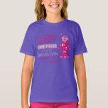 Pink Robot Food Allergy Alert Shirt
