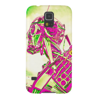 Pink Robot Galaxy S5 Covers