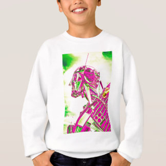 Pink Robot Sweatshirt