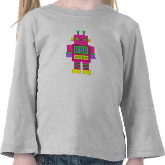 Pink Robot T-Shirt T Shirt