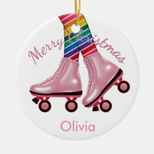 Roller Skate Christmas Tree Decorations Ornaments Zazzle Co Uk