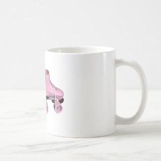 Pink Roller Skates Mugs