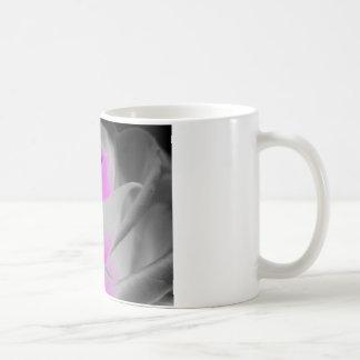 Pink Rose Art Coffee Mug