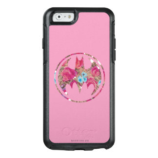 Pink Rose Bat Signal OtterBox iPhone 6/6s Case