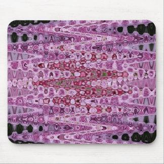 Pink Rose Beads Jan 2013 Mouse Pad