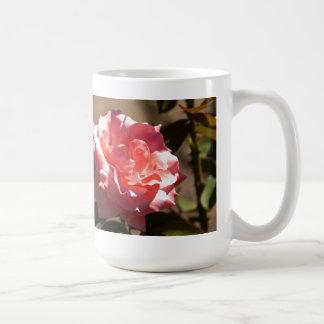Pink Rose Blossom Coffee Mugs