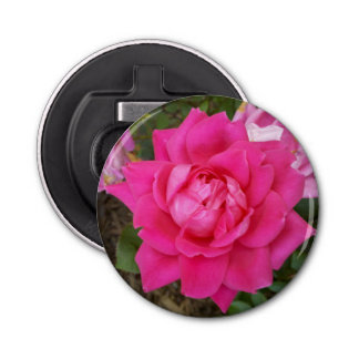 Pink Rose Bottle Opener
