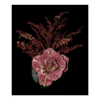Pink Rose  Bouquet Poster