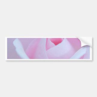 Pink Rose bud created by Tutti Bumper Sticker