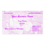 Pink Rose Business Cards