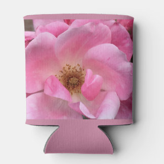 Pink Rose Can Cooler