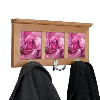 Pink Rose Coat Rack