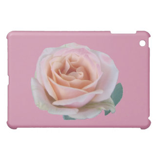 Pink rose cover for the iPad mini