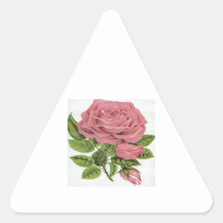 Pink Rose design Stickers