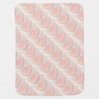Pink Rose Eye Baby Blanket