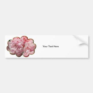"""Pink Rose """"Felicia"""" Bumper Sticker"""