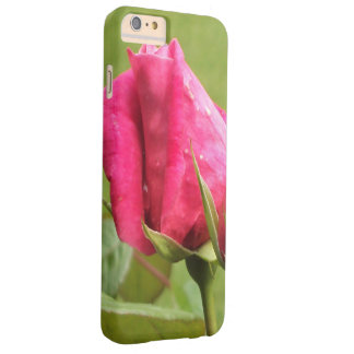 Pink Rose Floral Barely There iPhone 6 Plus Case