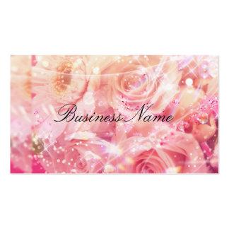 Pink Rose Floral Business Card