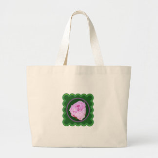 Pink Rose Flower Floral photo graphic on 100 gifts Jumbo Tote Bag
