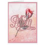 Pink Rose for Mum