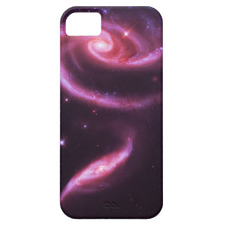 Pink Rose Galaxies iPhone 5 Case