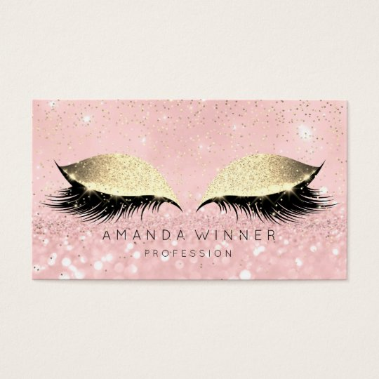 Pink Rose Gold Blush Lashes Makeup Glitter Beauty