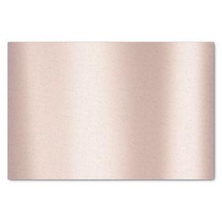 Pink Rose Gold Blush Metallic Powder Blush Tissue Paper