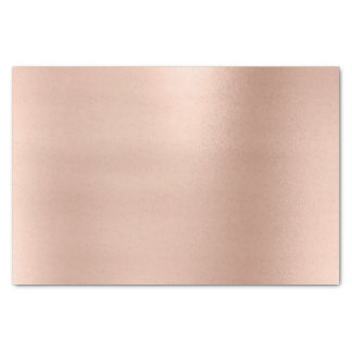 Pink Rose Gold Blush Metallic Powder Luxury Tissue Paper