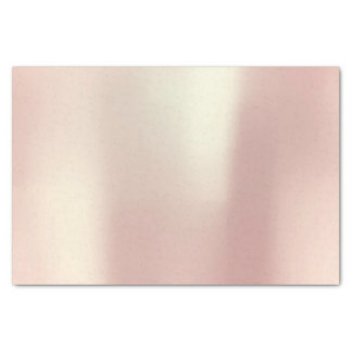 Pink Rose Gold Blush Metallic Powder Tissue Paper