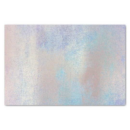 Pink Rose Gold Metallic Blush Blue Ocean Tissue