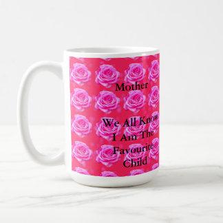 Pink_Rose_Happy_Birthday_Mum_Favourite_Coffee_Mug Coffee Mug