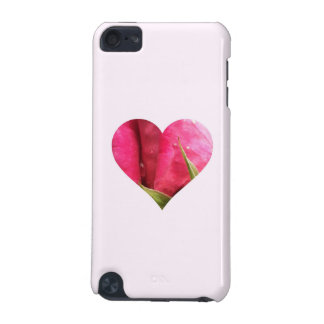 Pink Rose Heart iPod Touch 5G Cover